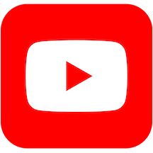YouTube logo linking to my YouTube channel